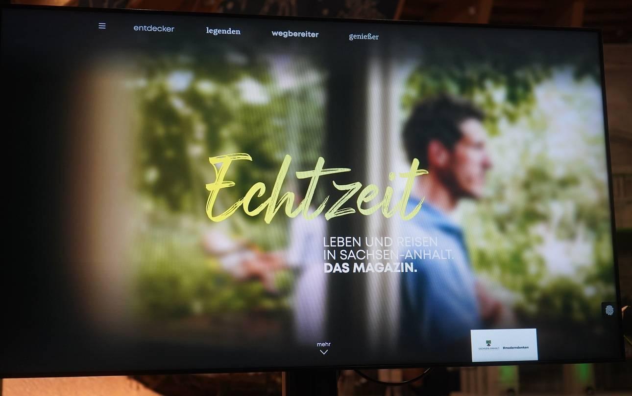 Magazin ECHTZEIT Screenshot Versand ©Ministerium für Wirtschaft, Wissenschaft und Digitalisierung