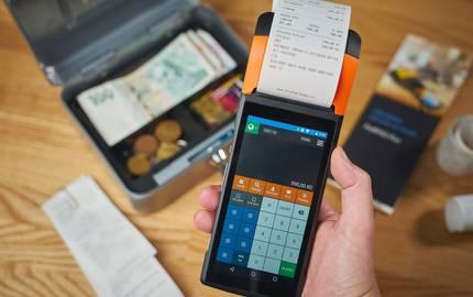 Kasse und Digitaler Bondrucker