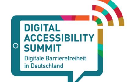 Digital Accessibility Summit Logo ©Der Beauftragte der Bundesregierung für die Belange von Menschen mit Behinderungen
