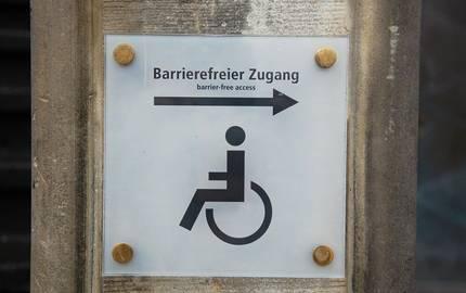 barrierefreier Zugang ©pixabay
