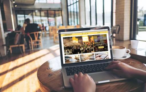 Menu: touristische Branchenlinks und Börsen