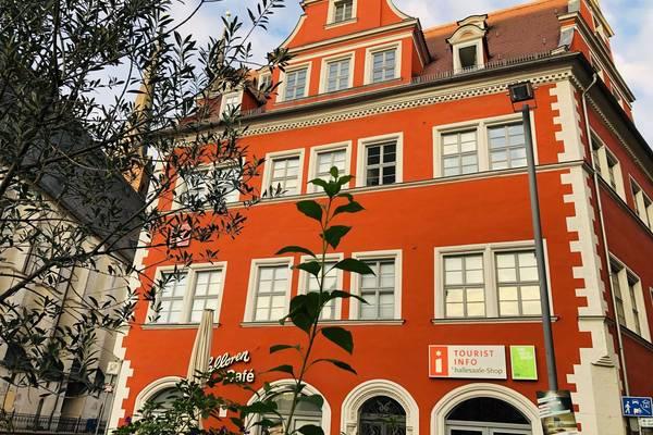 hallesaale Shop in Tourist Information (c)Stadtmarketing Halle Saale GmbH ©Stadtmarketing Halle (Saale) GmbH