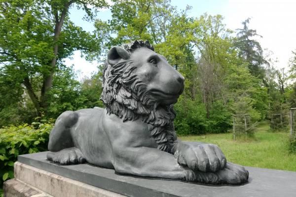 Löwentor im Kühnauer Landschaftspark
