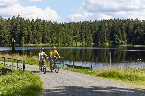 Mountainbiking in der Oberharzer Wasserwirtschaft